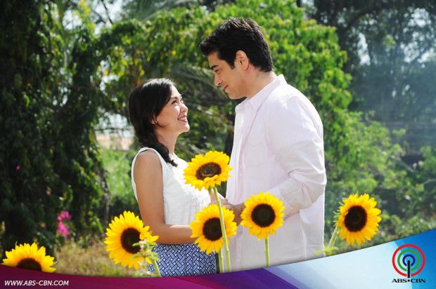 Mga bida ng Pangako Sa'Yo, nakisaya sa shoot ng ABS-CBN Summer Station ID 2015