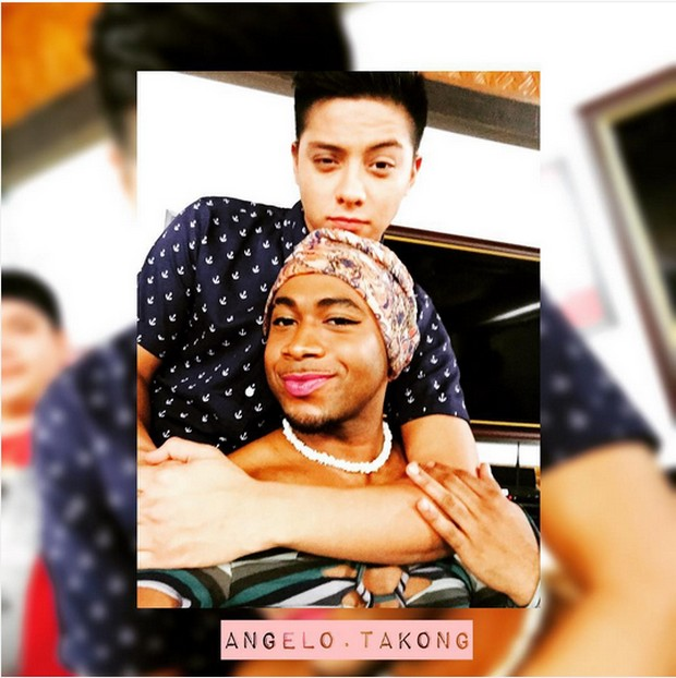LOOK: Angelo got 'BESTIEmized' by Takong