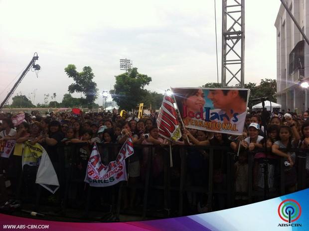 #PSYThanksgivingDay: Pangako Sa'Yo Stars in Biñan Laguna